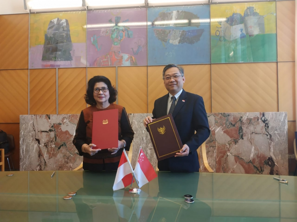 Singapore and Indonesia Sign Agreement to Collaborate on Health Promotion