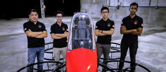Made-in-Singapore's Flying Car Ready to Enter United States Skies